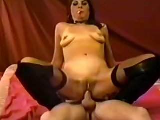 Smoking Domme uses her Boy Toy