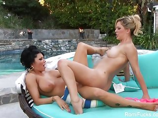 Romi Rain fucks a hot blonde slut
