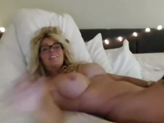 Kinky Milf with Big Tits masturbates and WANTS TO FUCK ONLY YOU !